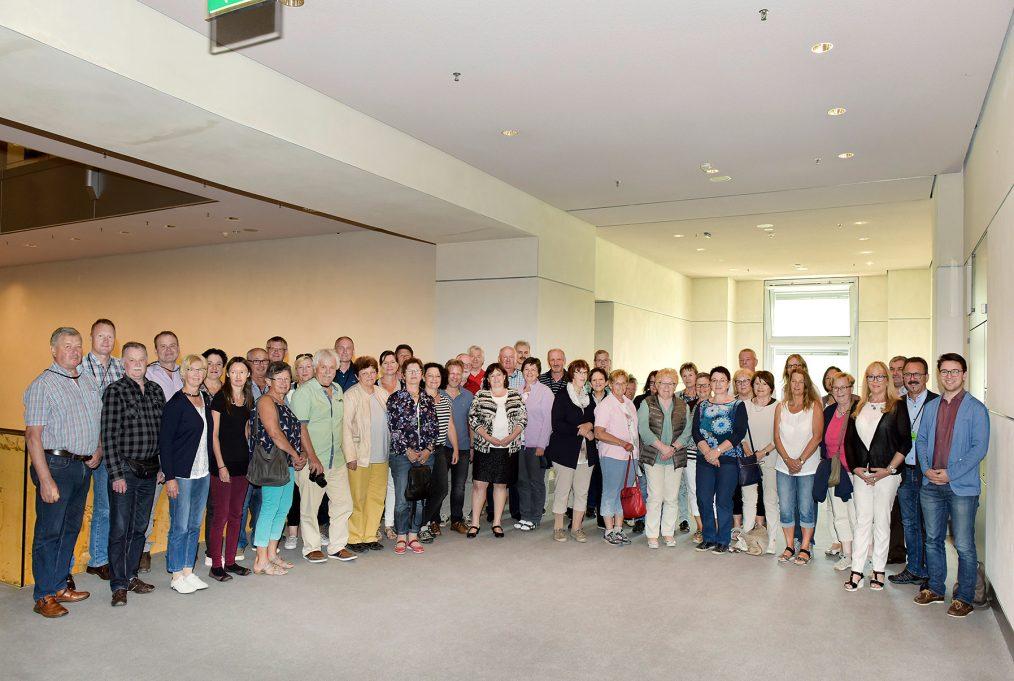 Oberpfälzer besuchen ihre Abgeordnete Marianne Schieder im Deutschen Bundestag