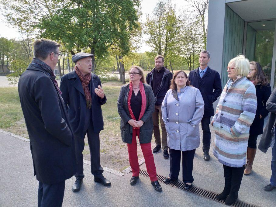 MdB Marianne Schieder besucht mit der Delegation der SPD-Bundestagsfraktion besucht Mahn- und Gedenkstätte Ravensbrück