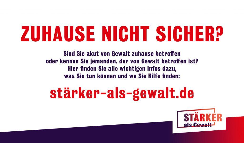 MdB Marianne Schieder unterstützt die Plakataktion zum Schutz von Frauen, die unter Gewalt leiden